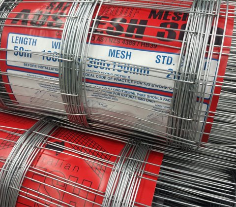 Ausmesh Roof Safety Mesh 1 8 X 50 Mtrs Per Roll