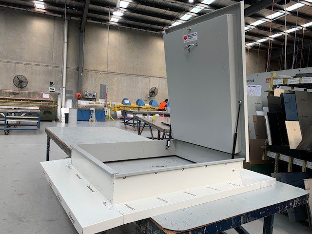 Colorbond Roof Access Hatch