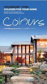 Colorbond colours for your home