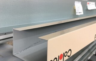 Colorbond Flashing in Paperbark
