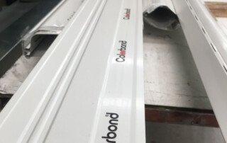 Colorbond fascia board