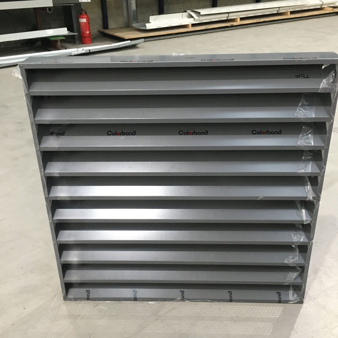 Colorbond wall vent